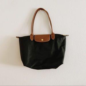 🕶 Longchamp Small Le Pliage Tote Black